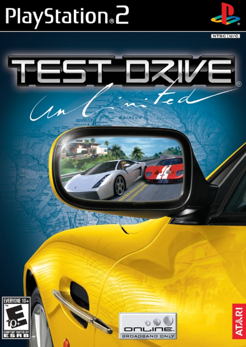 Test Drive Unlimited for PS2, PSP
