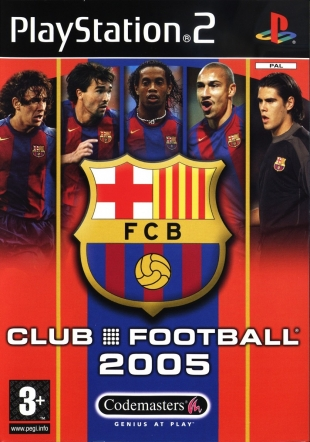 Club Football 2005 - FC Barcelona