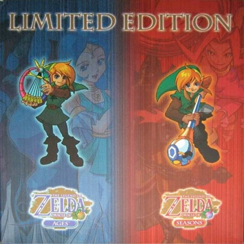 The Legend of Zelda: Oracle of Seasons and Oracle of Ages