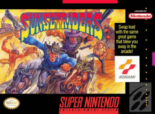 Sunset Riders for SNES