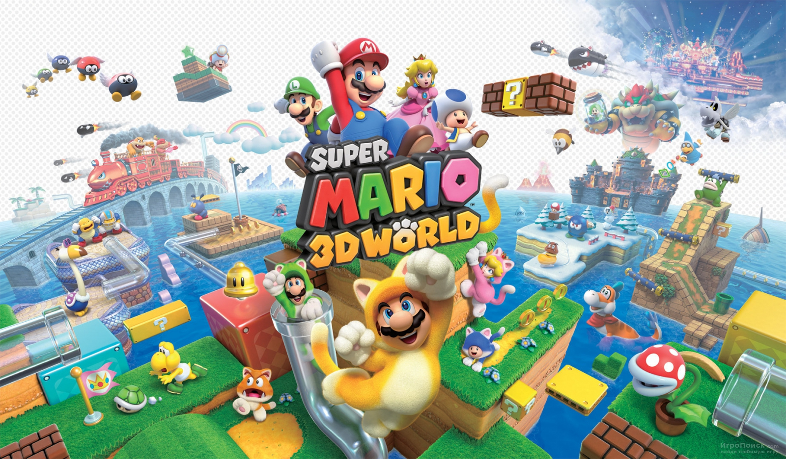 Super Mario 3D World. Мнение-сравнение